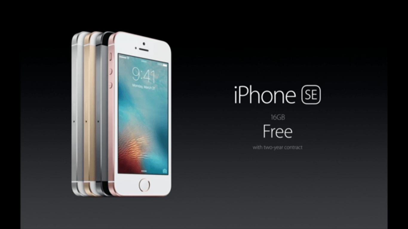 iPhone SE și iPad Pro 9.7 au fost anunțate