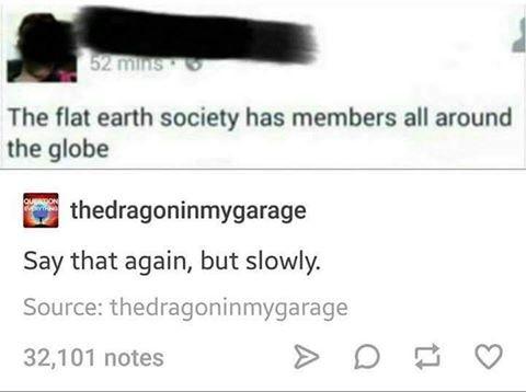 pământul era plat
