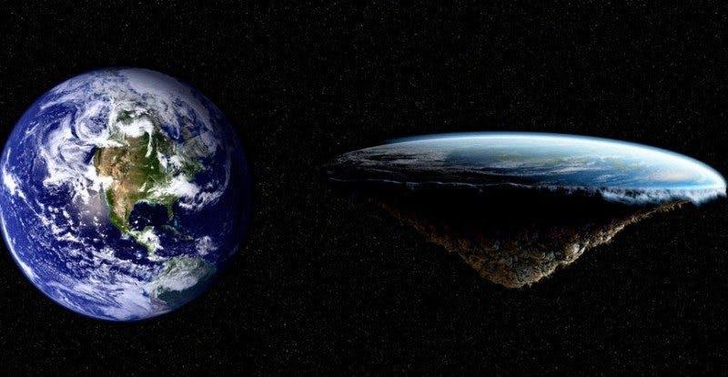 Cândva Pământul era plat…
