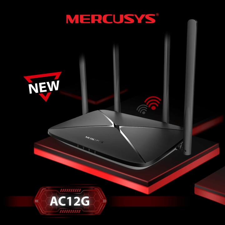 Mercusys lansează noul produs de vârf AC12G