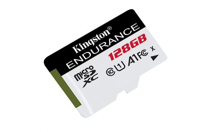 Kingston Digital lansează noile carduri microSD High Endurance