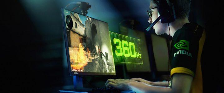 NVIDIA și ASUS ROG anunță primul monitor cu rată de refresh 360 Hz
