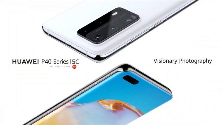 Seria Huawei P40 a fost lansată