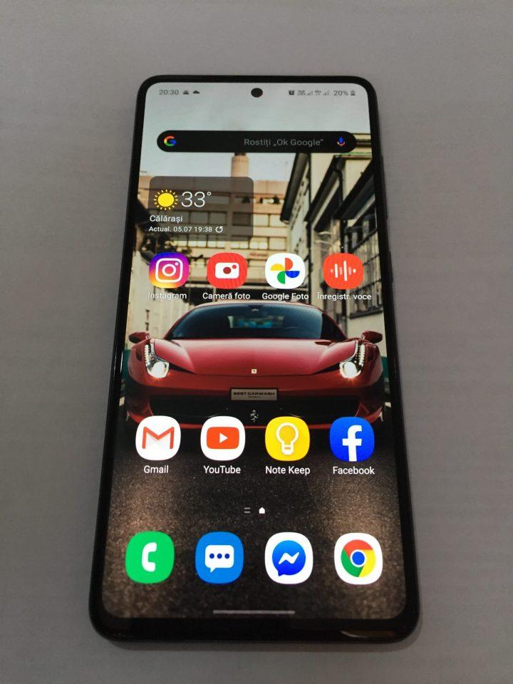 Galaxy A51 ecran