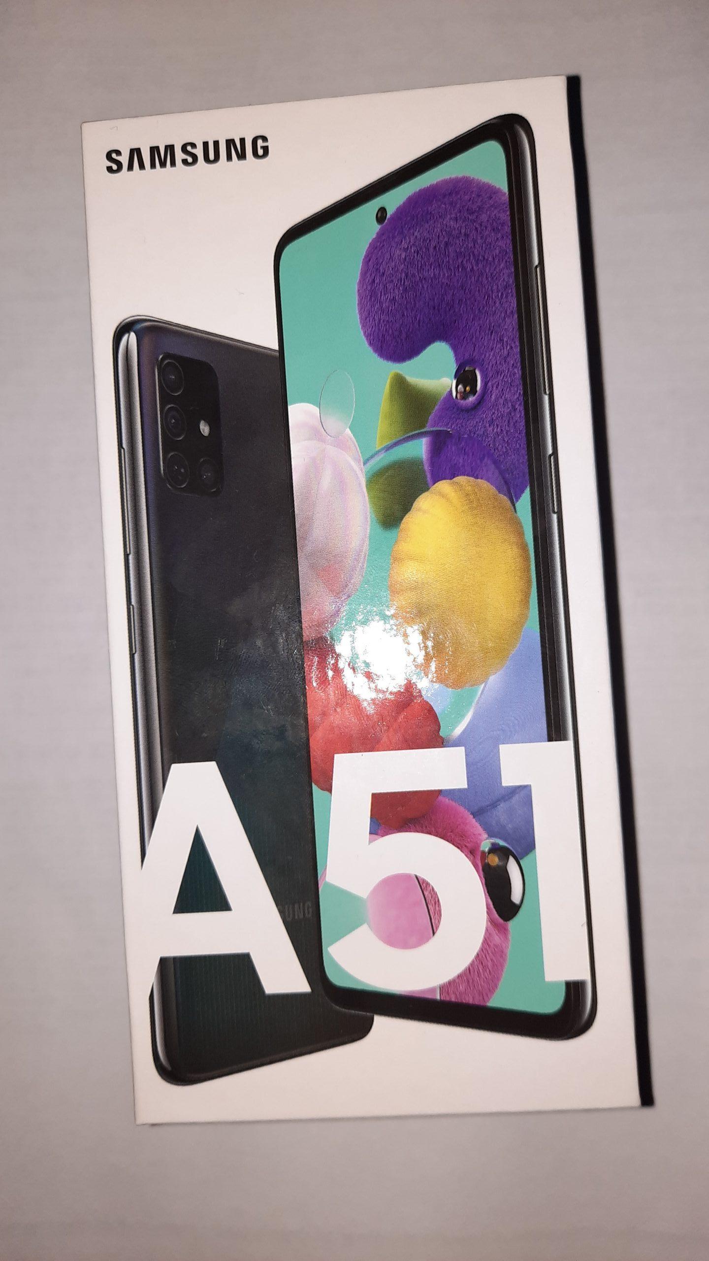 galaxy a51 box